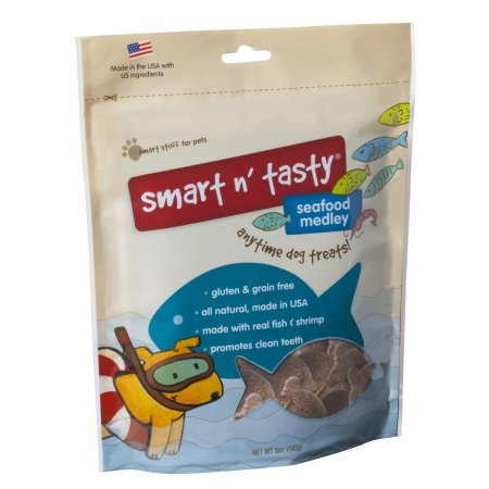 Tural Animal Nutrition Smart N Tasty Seafood Dog Treat Medley