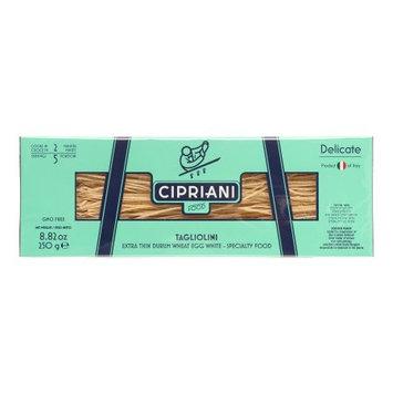 Cipriani Food 'Delicate' Tagliolini Extra Thin Egg White Pasta, 8.82 oz