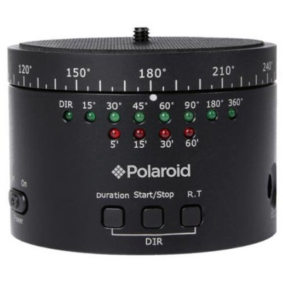 Polaroid Electronic Panorama Ball Head for GoPros, Smartphones & Digital Cameras
