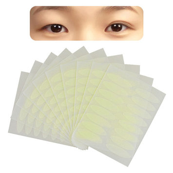 Zodaca 640 Pairs Fiber Breathable Double Eyelid Sticker Tape Technical Eye Tapes Wide (4-Pack Bundle)