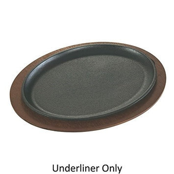 Lodge UJOP - Jumbo Oval Wood Underliner Only, 15-1/2 L x 12 W x 3/4 in