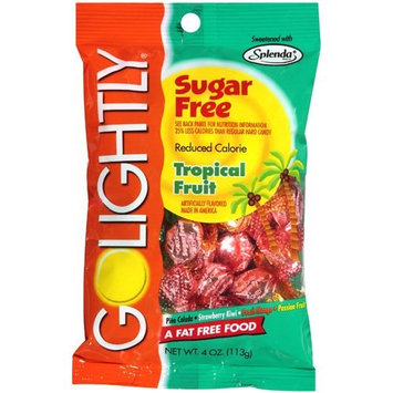 Golightly: Sugar Free Reduced Calorie Tropical Fruit Hard Candy, 4 oz