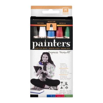 ELMERS Acrylic Paint Markers Bright Colors Medium Pt 5 Pack - Art Craft ELM 7518