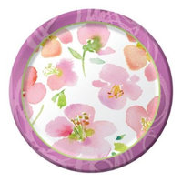 Club Pack of 96 Warm Flora Disposable Paper Party Banquet Dinner Plates 10