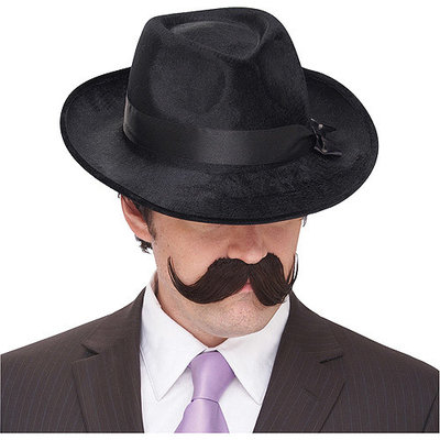Handle Bar Adult Halloween Mustache Accessory