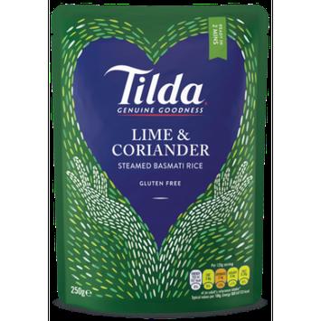 Hain Celestial Tilda Steamed Basmati Rice, Lime Coriander, 8.5 Oz