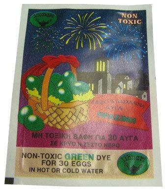 Lihnari Egg Dye Green