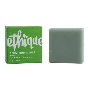 Ethique Eco-Friendly Glow-Solid Deodorant, Spearmint & Lime 2.47 oz [Spearmint & Lime]