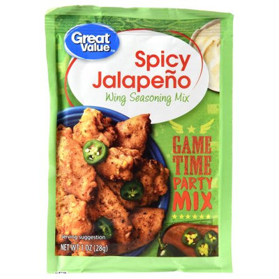 Great Value Wing Seasoning Mix, Spicy Jalapeno