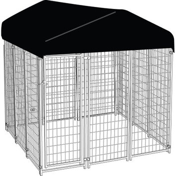 Jewett-cameron Company AKC Uptown Kennel w/ Roof Kit