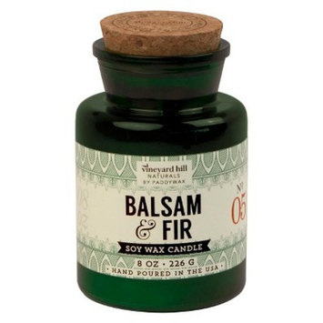 Apothecary Jar Candle Balsam & Fir 8oz - Vineyard Hill Naturals by Paddywax®