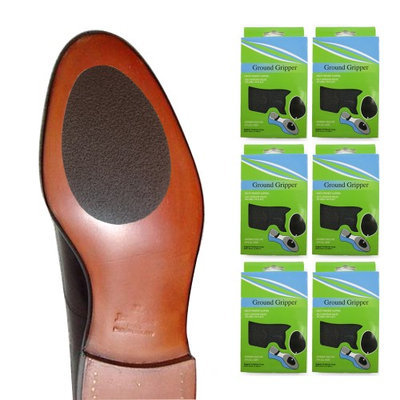 Atb 6 Pairs Ground Gripper Pads Shoe Soles Non Skid Walking Running Men Woman New!
