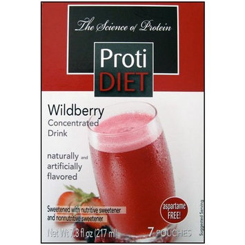 Proti Diet Concentrated Drink Mix (7 servings) (Wildberry, 7 Servings)
