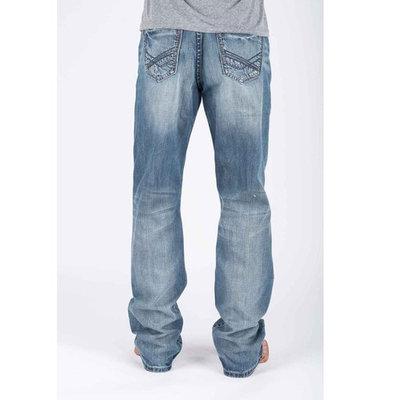 Tin Haul Regular Joe Fit Pcd Back Pkt W/Lined Deco Stitch Blue 31 S, 0420