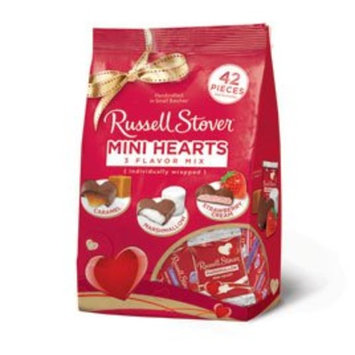 Russell Stover Assorted Mini Hearts Gusset Bag, 20.6 oz.