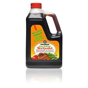 Kikkoman Less Sodium Teriyaki Sauce, 0.5 Gallon