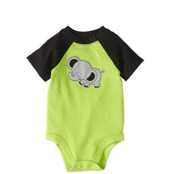 Garanimals Baby Boy Short Sleeve Graphic Raglan Bodysuit