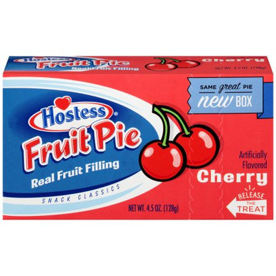 Hostess Fruit Pies Mini, Cherry, 4.5 Oz