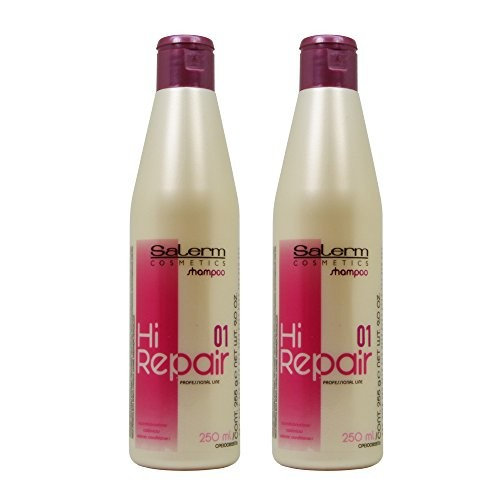 "Salerm Hi Repair Shampoo 9oz / 250ml ""Pack of 2"""