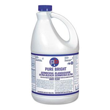 Liquid Bleach, 1gal Bottle, 3/Carton, Sold as 1 Carton, 3 Each per Carton