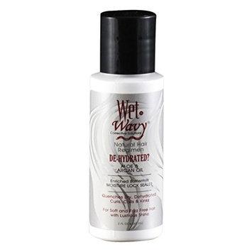 Wet N Wavy Natural Hair Regimen De-Hydrated Aloe & Argan Oil, 2 Ounce