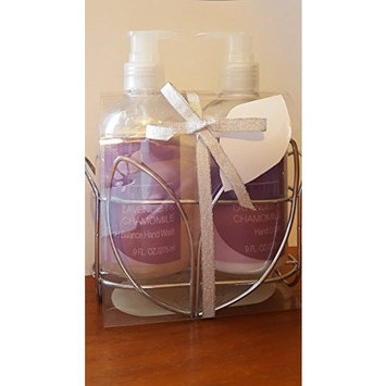 Lavender Chamomile Hand Wash and Hand Lotion Gift Set