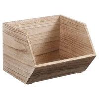 Stackable Wood Bin Small - Pillowfort™