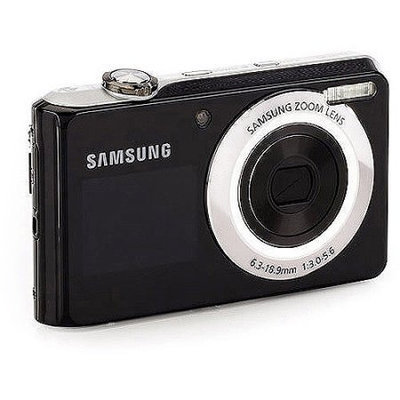 Samsung Ec-Tl205Zbpsus - Tl205 - Digital Camera - 12.2 Pixel - Ccd - 3 X - 35-105mm - 2.7 Inch - Silver
