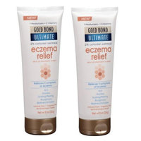 Gold Bond Ultimate Eczema Relief Skin Protectant Cream - 8 oz (Pack of 2)
