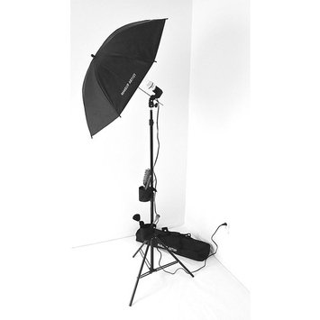 Tuscany PRO MAKEUP ARTIST Light Set--Unique DESIGN w/ TWO Brush HOLDERS and CELL PHONE HOLDER--CARRY BAG--5 YEARS WARRANTY