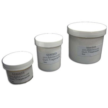 Gum Tragacanth for Gumpaste and Pastillage - 2 Oz