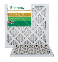 AFB Gold MERV 11 8x16x1 Pleated AC Furnace Air Filter. Filters. 100% produced in the USA. (Pack of 2)