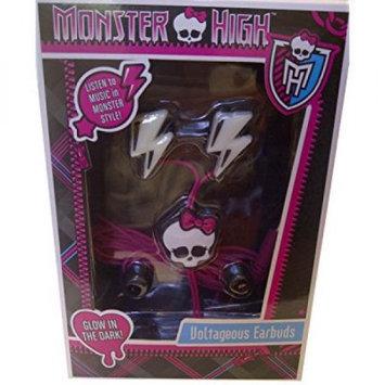 Sakar International Monster High Lightning Bolt Voltageous Earbuds