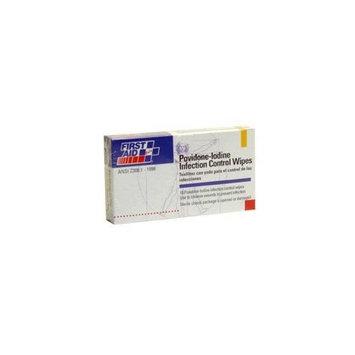 Povidone Lodine Infection Control Wipe A338 - 1-1/4