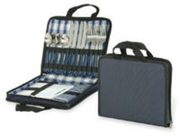 Ddi Picnic Carry Case For Four - Navy (Pack Of 12)