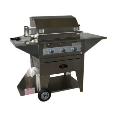 Lazyman Lazy Man Masterpiece Mobile Outdoor Stainless Steel Natural Gas Grill