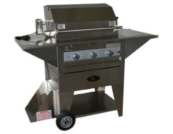 Lazyman Lazy Man Masterpiece Mobile Outdoor Stainless Steel Propane Gas Grill