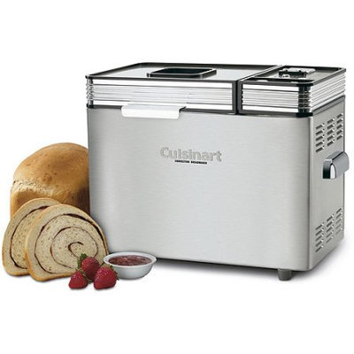 Cuisinart Stainless Steel Automatic 2-Pound Bread Maker