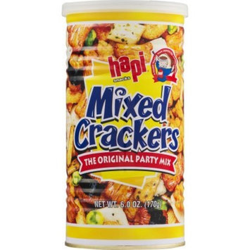 Hapi Crackers Mixed, 6 oz, 8pack