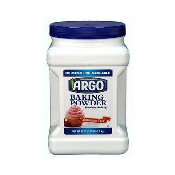 ARGO Baking Powder - 60oz - CASE PACK OF 4