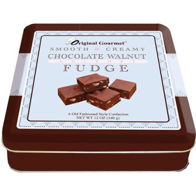 Original Gourmet Chocolate Walnut Fudge, 12 oz