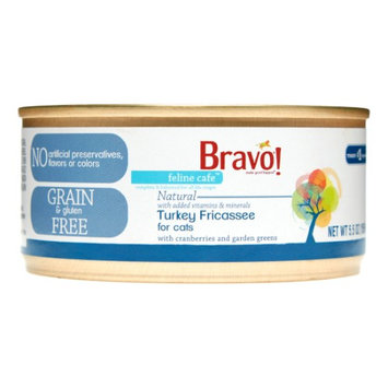 Bravo Feline Cafe Grain Free Turkey Fricassee Canned Cat Food