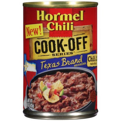 Hormel Chili Cook-Off Series Texas Brand Chili, 15 oz