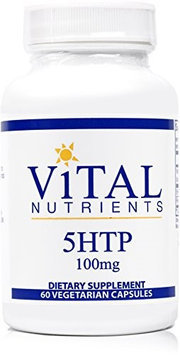 Vital Nutrient's Vital Nutrients - 5HTP 100 mg - Supports Healthy Serotonin Levels - 60 Capsules