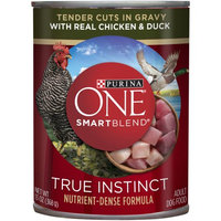 PURINA ONE® Smartblend True Instinct Chicken & Duck Flavor Wet Dog Food