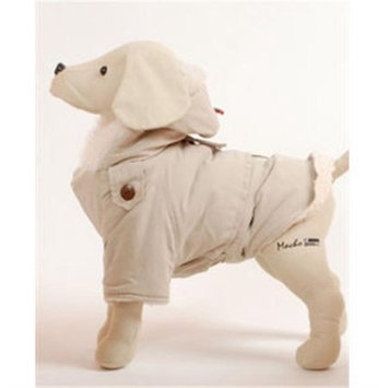 Petego Alaskan Cream Dog Coat 20 in