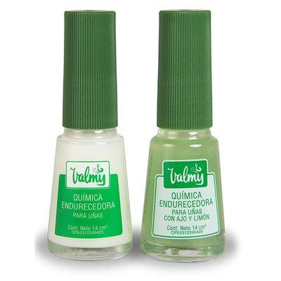Valmy Quimica Endurecedora + Garlic and Lemon - Nail Hardener Strengthener Whitening Polish Treatment