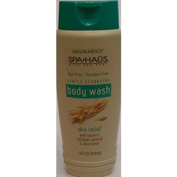 Silkience Spa Haus - Paraben Free Body Wash Oatmeal & Shea Butter - 16oz