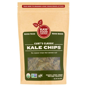 Raw Food Central Curt's Classic Kale Chips, 1.5 oz, 12 pack