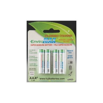 Fuji EnviroMAX UDAAA-4 Digital Alkaline AAA Battery 4 Pack (Discontinued by Manufacturer)